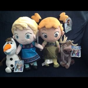 Disney Frozen 4-Piece Plush